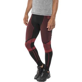X-Bionic Effektor Power OW Spodnie do biegania Mężczyźni czerwony/czarny